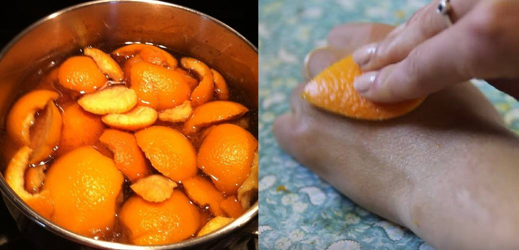 10 Awesome Uses Of The Orange Peel You Didn't Know Till Now!