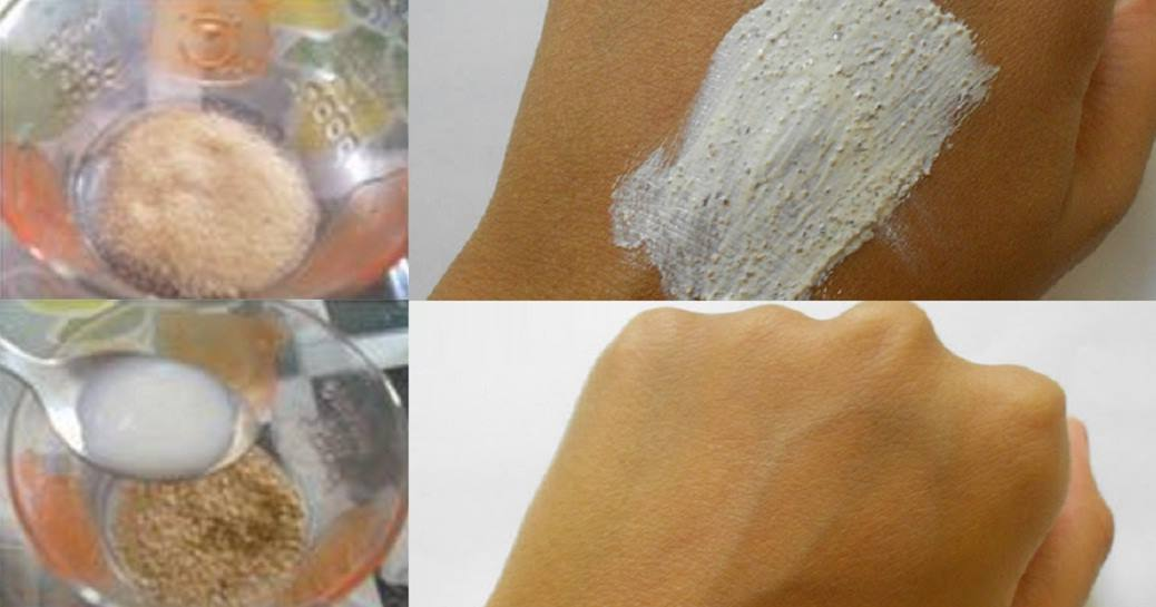 With This Homemade Scrub The Tan On Your Arms And Face Will Disappear