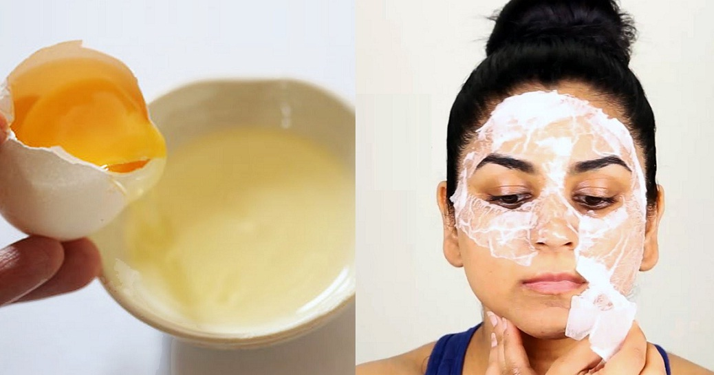 Get Rid Of Pores, Blackheads And Acne With Egg White Face Mask