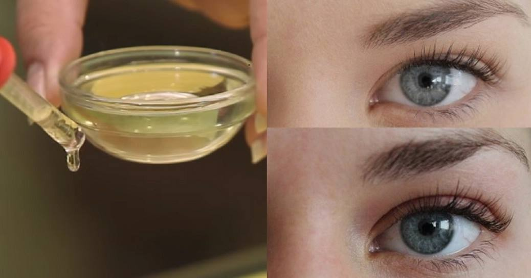 Just 2 Simple Ingredients And Your Eyelashes Will Grow Long And Thick In No Time!