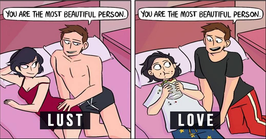 Love Vs Lust: 6 Photos That Will Help You Find Out If Your Boyfriend Really Loves You