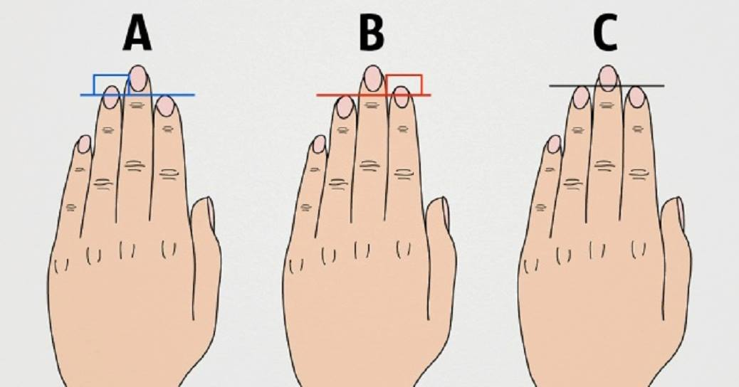 This Is What The Length Of Your Fingers Says About Your Character And Health