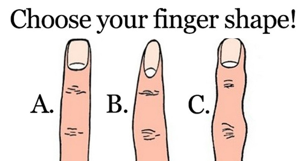 This Is What The Shape Of Your Finger Says About Your Relationships And Character. So Accurate, It's Scary!