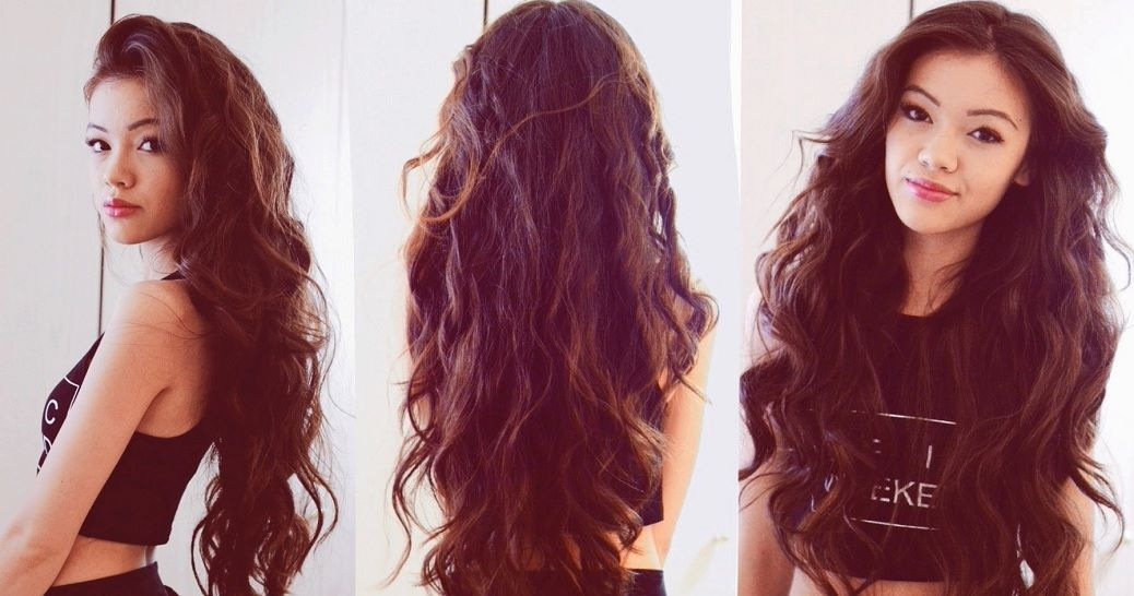 No Hot Rollers, No Gels! Awesome Trick To Get Naturally Curly Hair At Home