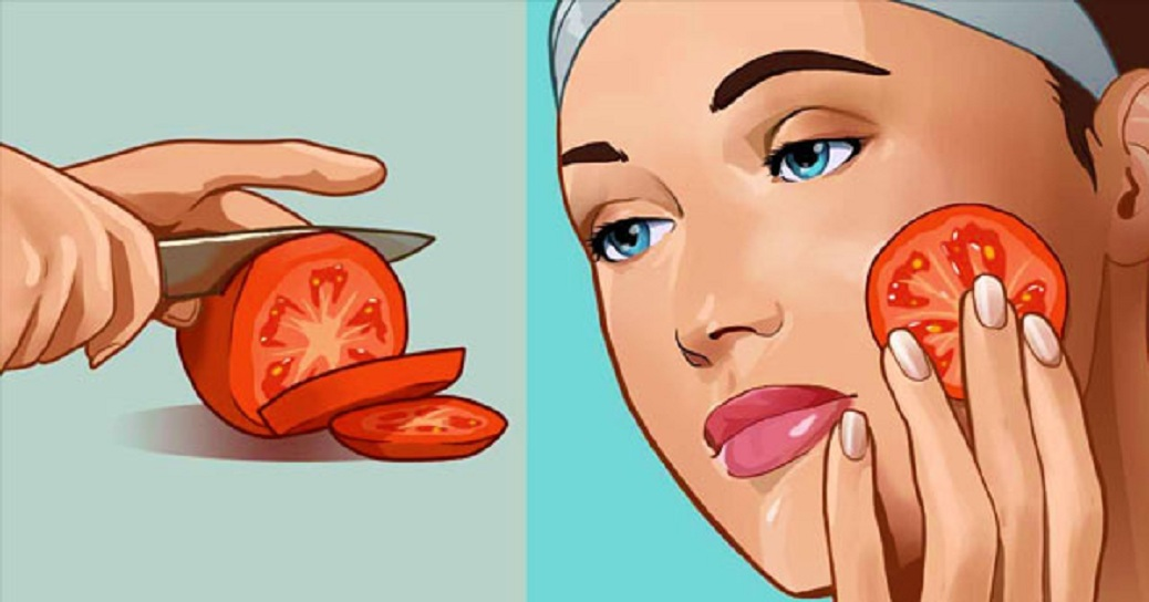 Rub Tomato On Your Face And Get Rid Of Acne, Dark Spots And Pores