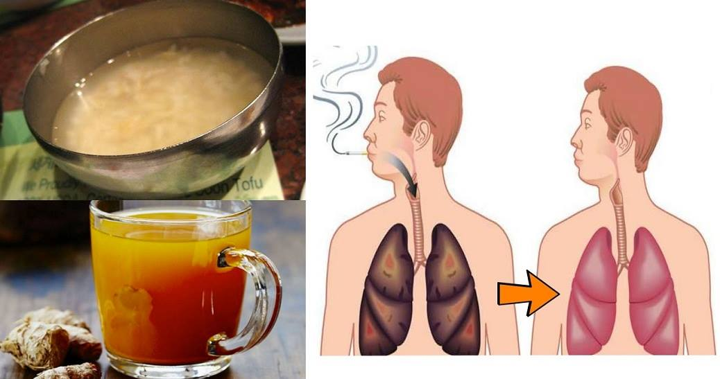 Lung cleansing drink