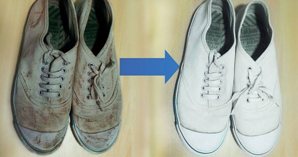 How To Clean White Converse Shoes Easily At Home